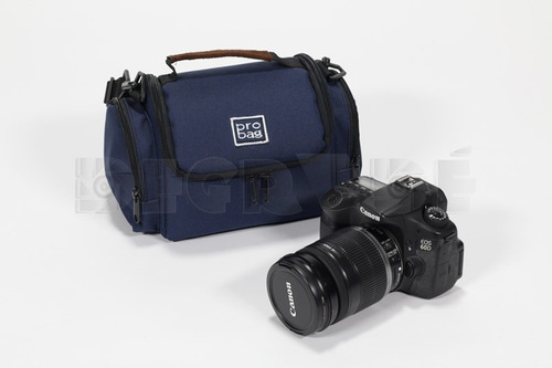 bolso estuche cámara video home curvo reforzado 26x18x14cm
