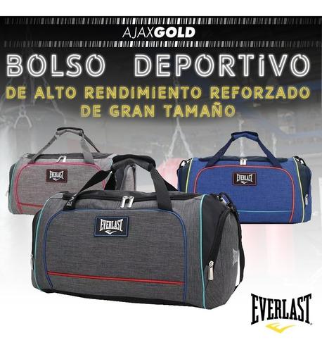 bolso everlast 26213 deportivo reforzado gym original grande