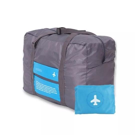 Bolso De 280 Y Mano De Portátil Viaje Azul Plegable Extra Amplio SSvp7r