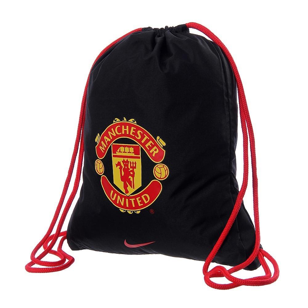 Bolso Gym Sack Nike Manchester United Black Ba4808-066 - Bs. 85.313 ... 4c839ae448044