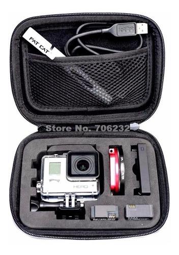 bolso impermeable para gopro sj4000 xiaomi cámara deportiva