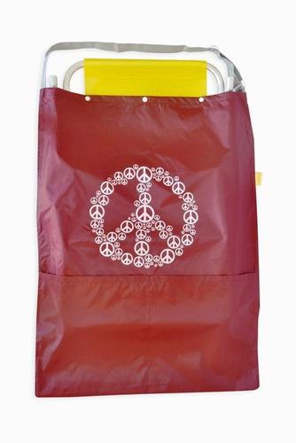 bolso impermeable para llevar 2 reposeras