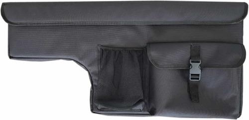 bolso lateral de lona para cobertor amarok ranger hilux s10