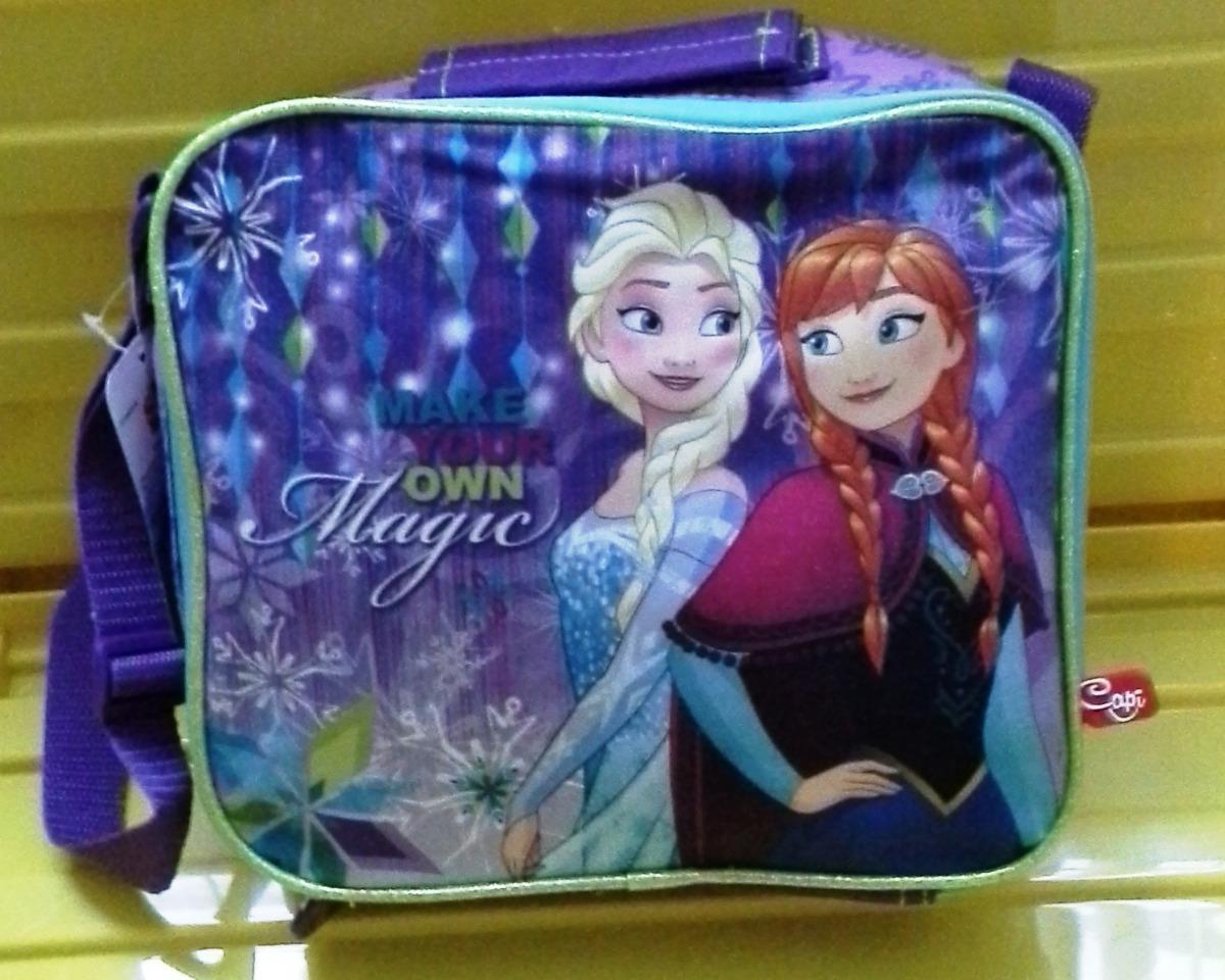 acb74eccf Bolso Lonchera De Disney Frozen Nuevo - Bs. 2.999,00 en Mercado Libre