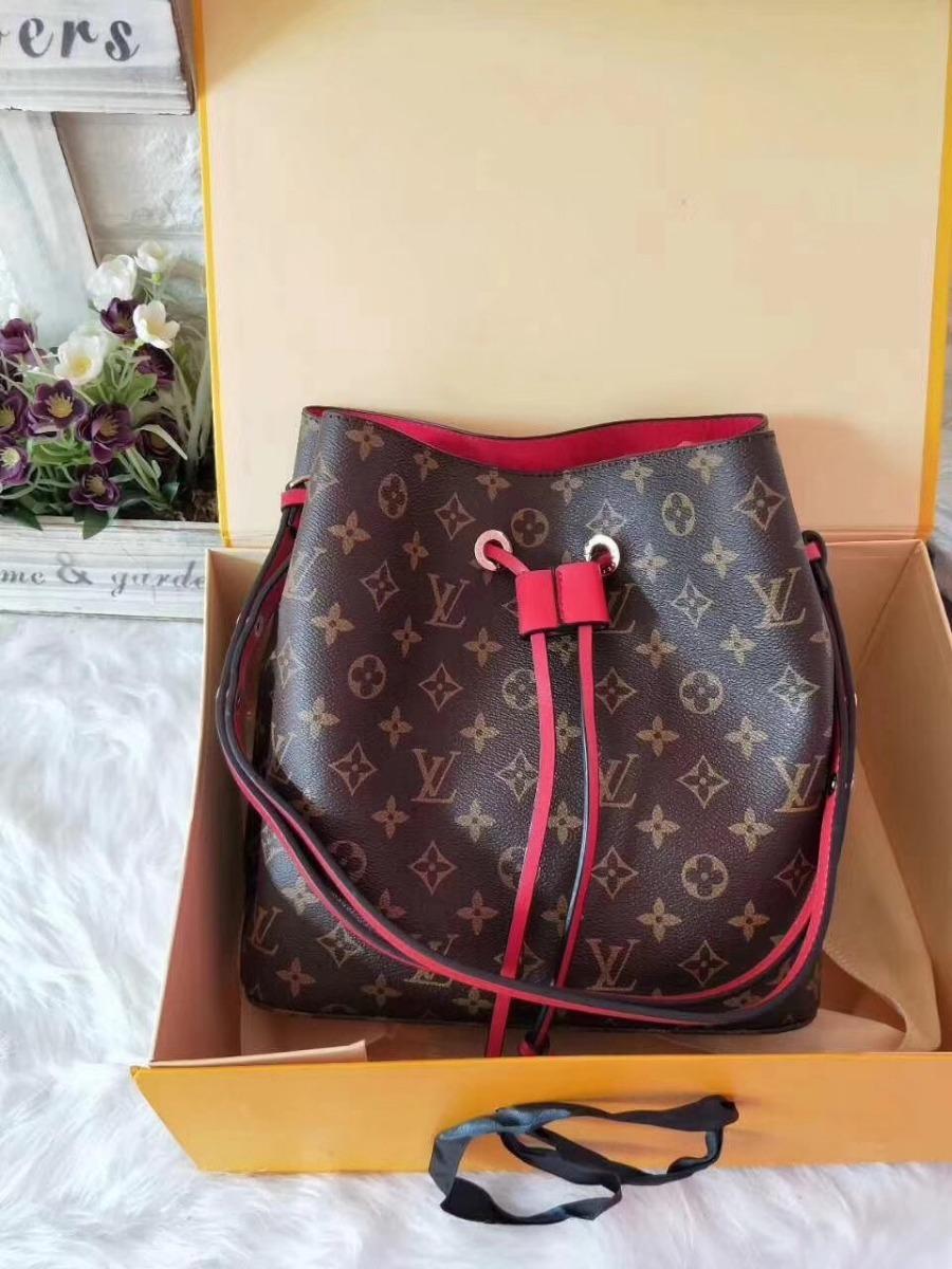920391f85 Bolso Saco Louis Vuitton Lv 4 Colores Para Mujeres Dama - $ 199.000 ...