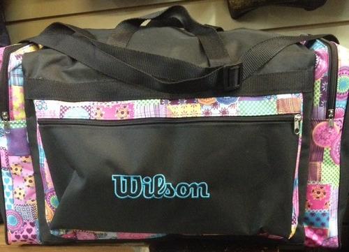 bolso maleta de viaje wilson sin ruedas 72 cm largo