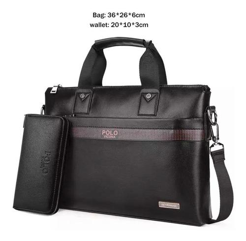 bolso maletín hombre polo vicuña