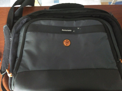 bolso maletin laptop lenovo. usado, impecable 15v