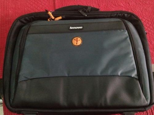 bolso maletín lenovo para laptop