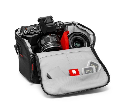 bolso manfrotto essential shoulder bag xs