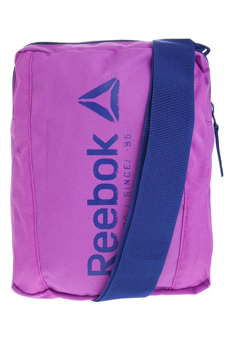 0cc42eafb Bolso Manos Libres Morado Reebok Found City Bag - $ 69.860 en ...