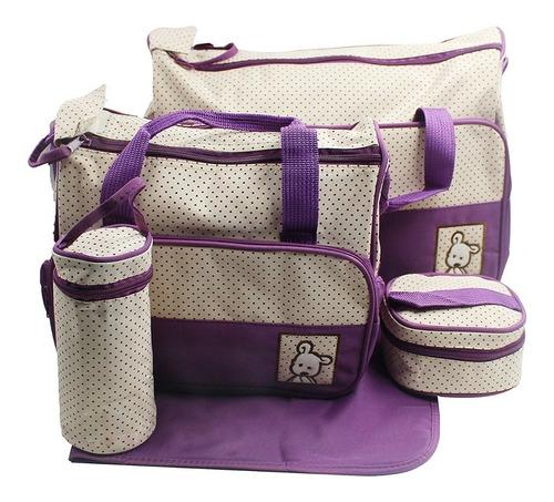 bolso maternal 5 piezas 7 colores disponibles