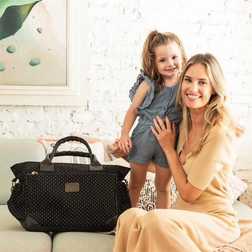 bolso maternal happy little moments cata con cambiador tono