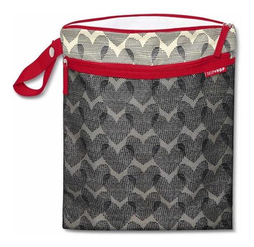 bolso maternal para ropa húmeda y pañales skip hop