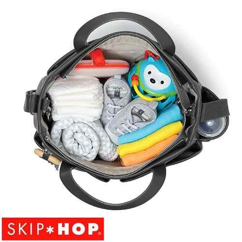bolso maternal skip hop® modelo greenwich chic