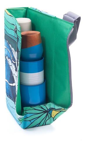 bolso matero chilly diseño hawaiian