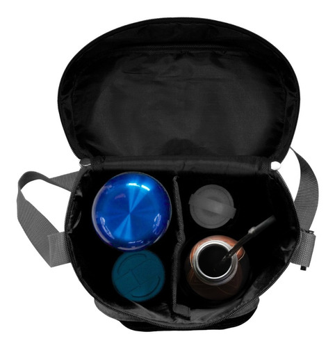 bolso matero interior acolchado con división