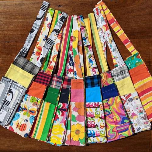 bolso matero porta termo tela regalo original