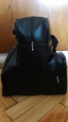 bolso matero: porta termo y equipo de mate