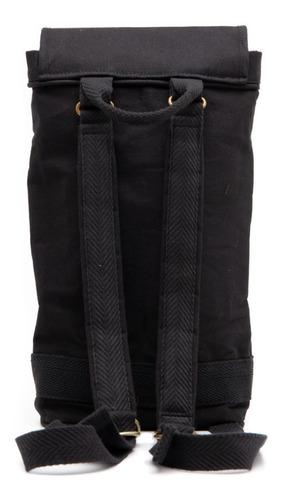 bolso matero + yerbera un mate - black