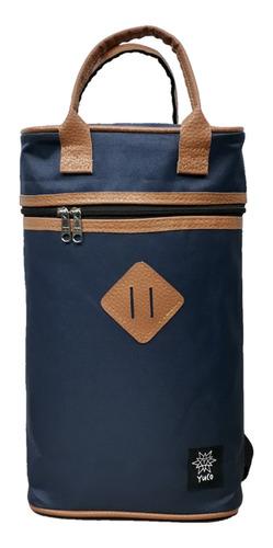 bolso matero yuco mochila - azul marino (apto stanley)