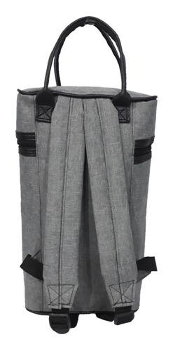 bolso matero yuco mochila - gris melange (apto stanley)