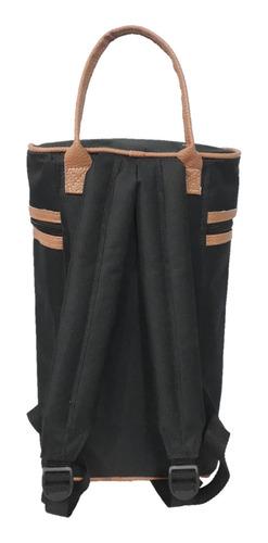 bolso matero yuco mochila - negro (apto stanley)