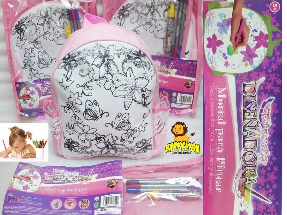 Bolso Melucha Para Pintar Con Marcadores Set Dibujo Niñas - Bs. 3,50 ...