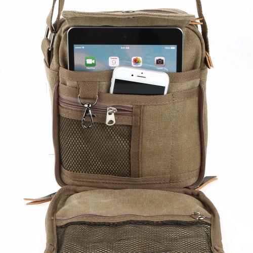 bolso militar mensajero mochila de hombro mariconera p/ipad