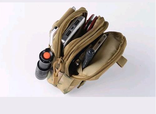 bolso militar  porta celular, molle