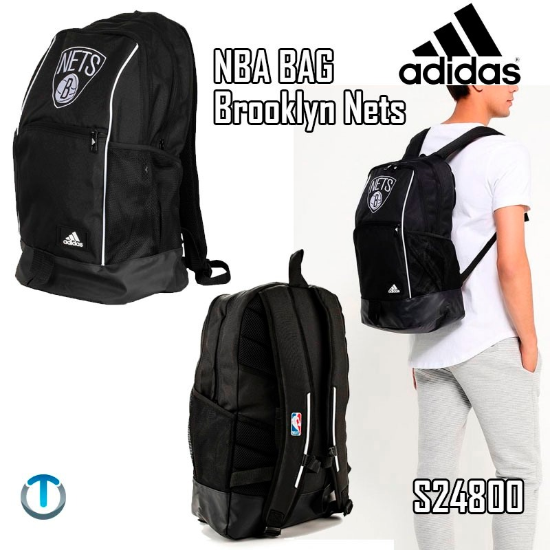 7649ee3aa Bolso Mochila adidas Nba Brooklyn Nets Porta Laptop - Bs. 135.000,00 ...