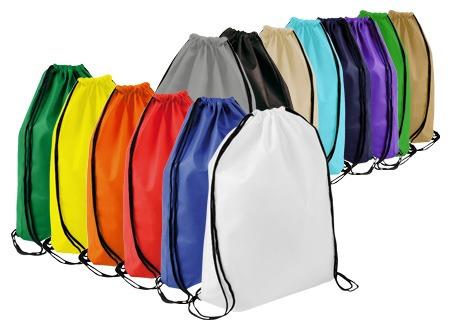 bolso mochila ecològico morral pack 25 unidades