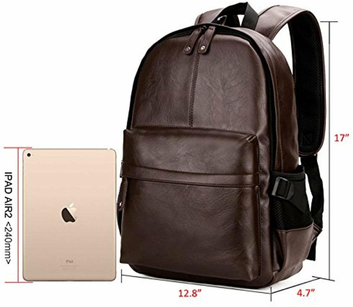 1eb98a5ad bolso mochila laptop 15.6 piel sintética hombre mujer 2019. Cargando zoom.