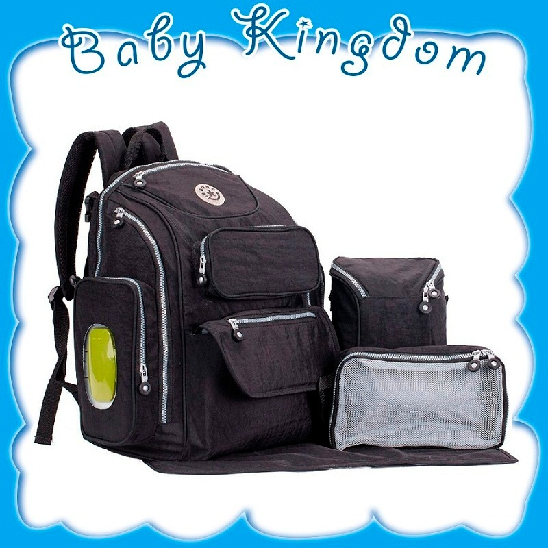 ebf31bc27 bolso mochila maternal 5en1 pañalera soho organizador bebe. Cargando zoom.