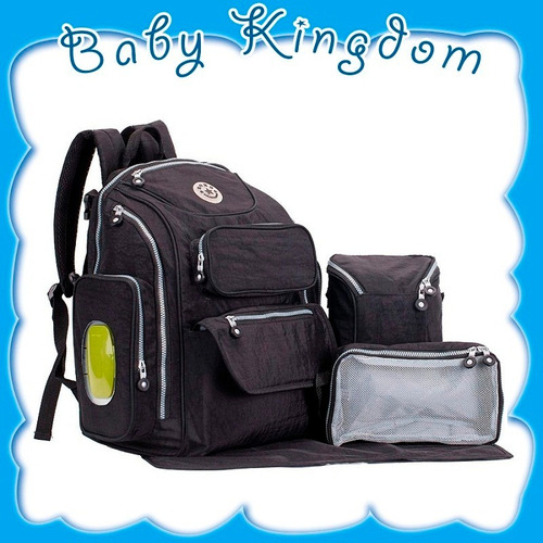 bolso mochila maternal 5en1 pañalera soho organizador bebe