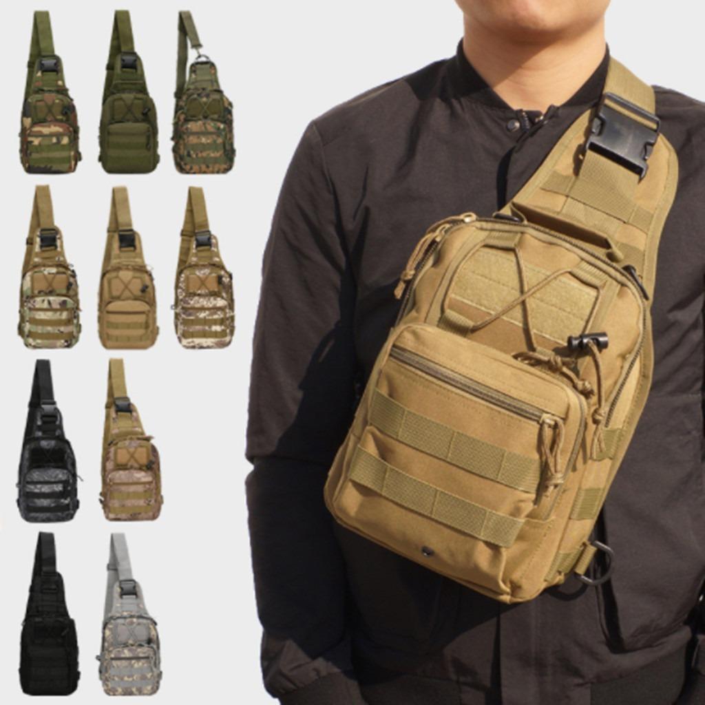 673fc3b75e6cce bolso mochila militar táctica pechera cruzada hombro hombre. Cargando zoom.