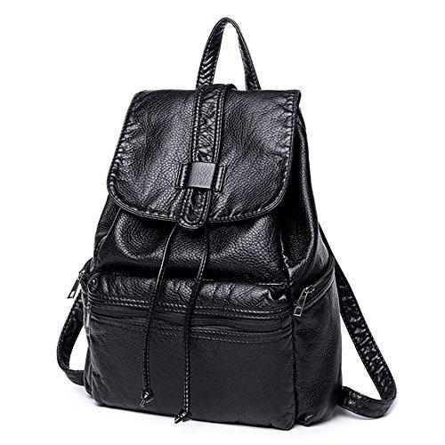 4dac176ce Bolso Mochila Pequeño Para Mujer Mochila Casual Negro - $ 43.990 en Mercado  Libre