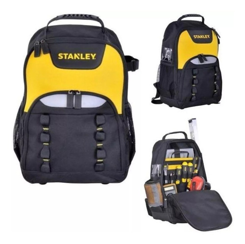 bolso mochila porta herramientas stanley 15,6 pulgadas