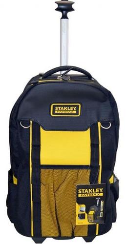 bolso mochila porta herramientas stanley con ruedas fatmax