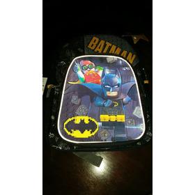 Bolso Morral Escolar De Batman