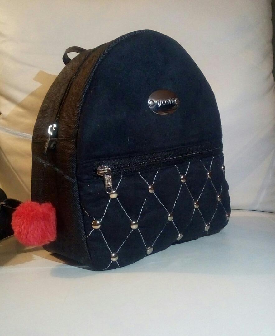 f223ed51524 bolso morral para dama en semi cuero a la moda. Cargando zoom.