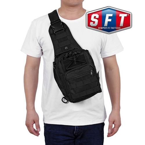 bolso morral táctico go bag negro - semper fi tactical®