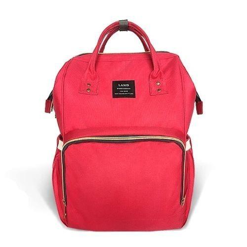amplia selección artesanía exquisita forma elegante Bolso Multifuncional Pañalera Resiste Al Agua Huluwa Rojo