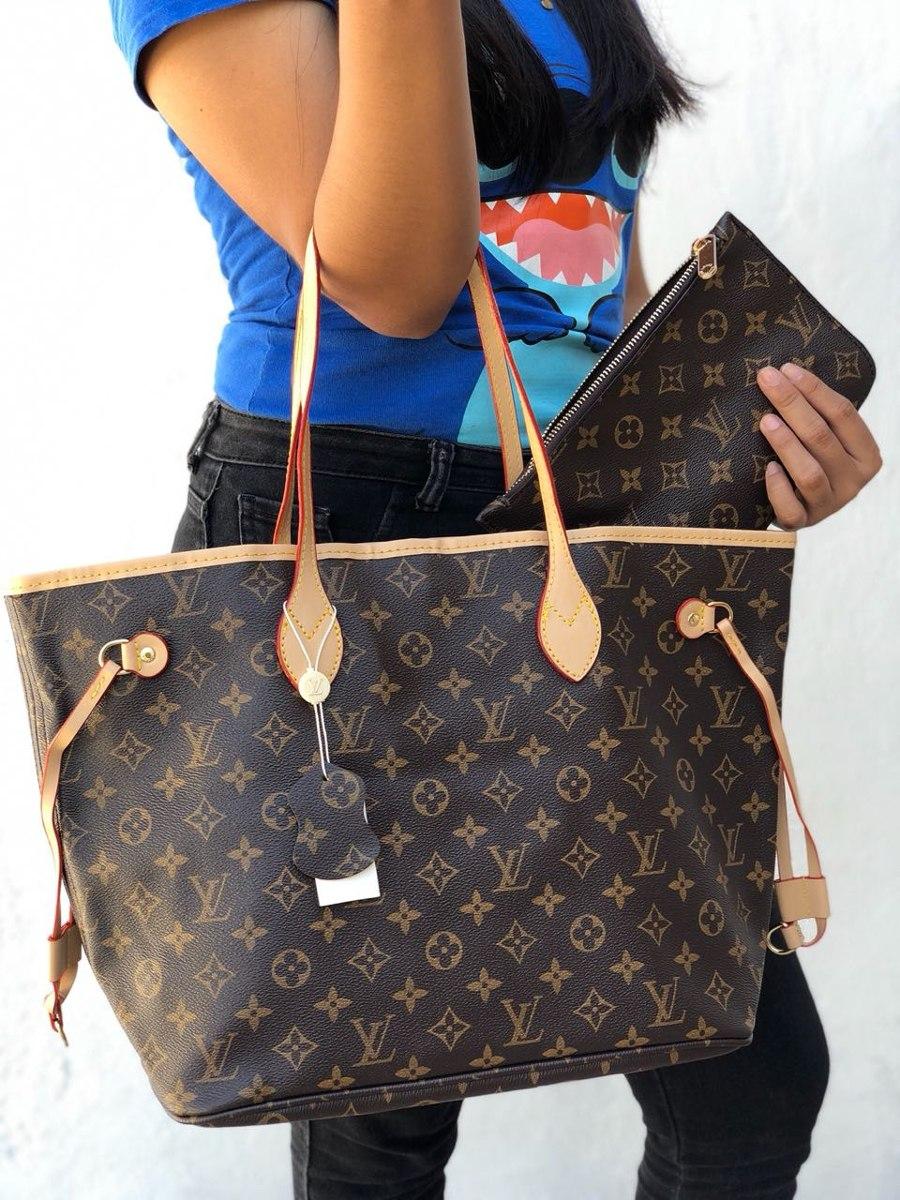 17dcd7efe Bolso Neverfull Louis Vuitton + Envío Gratis - $ 899.00 en Mercado Libre