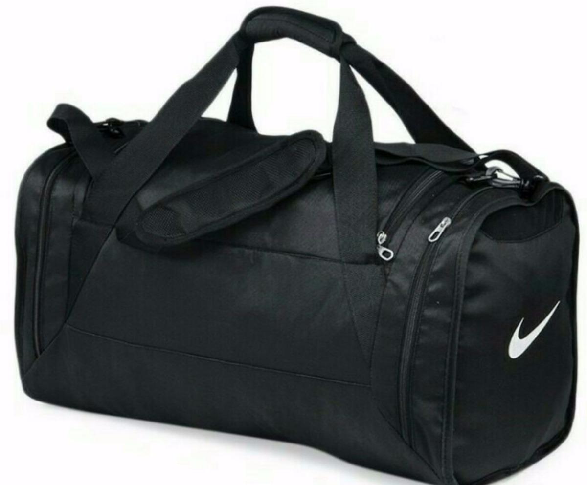 Bolso Nike Negro Deportivo Viaje Original