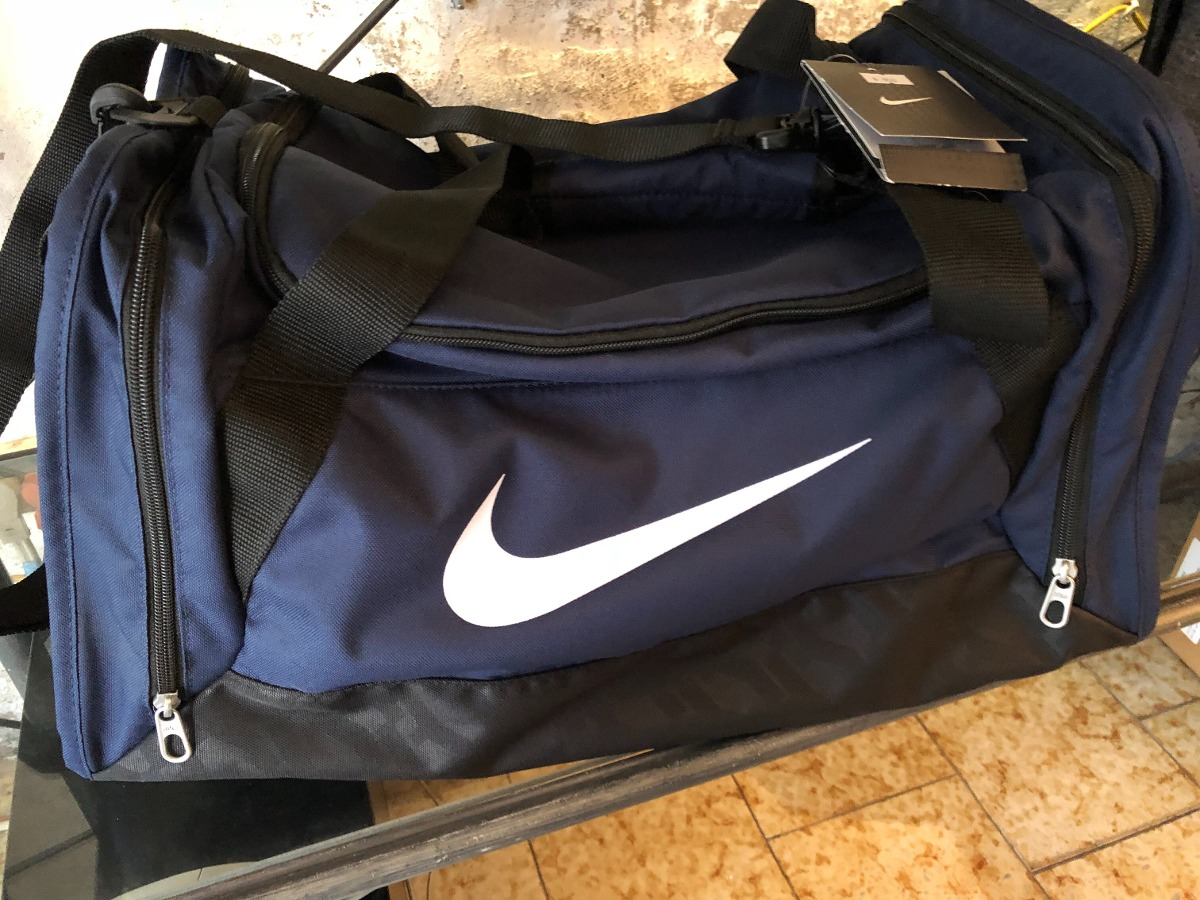 6aa2a840a Bolso Nike Original Color: Azul T: M 47 Cm * 30 Cm - $ 1.130,00 en ...