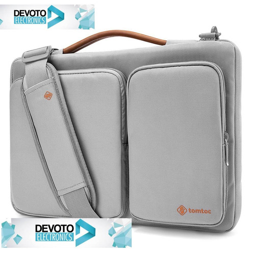 bolso notebook 15 15,6 tomtoc macbook maletin hombro devoto