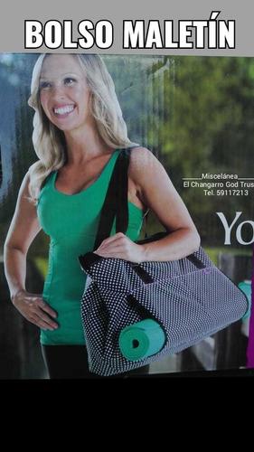 bolso ó maletín yoga ó multiusos.