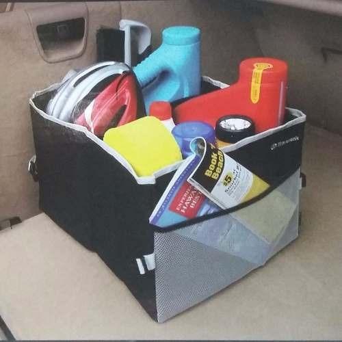 bolso organizador baul accesorio auto plegable mediano
