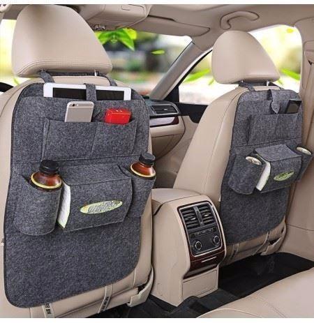 bolso organizador para respaldo asiento de auto